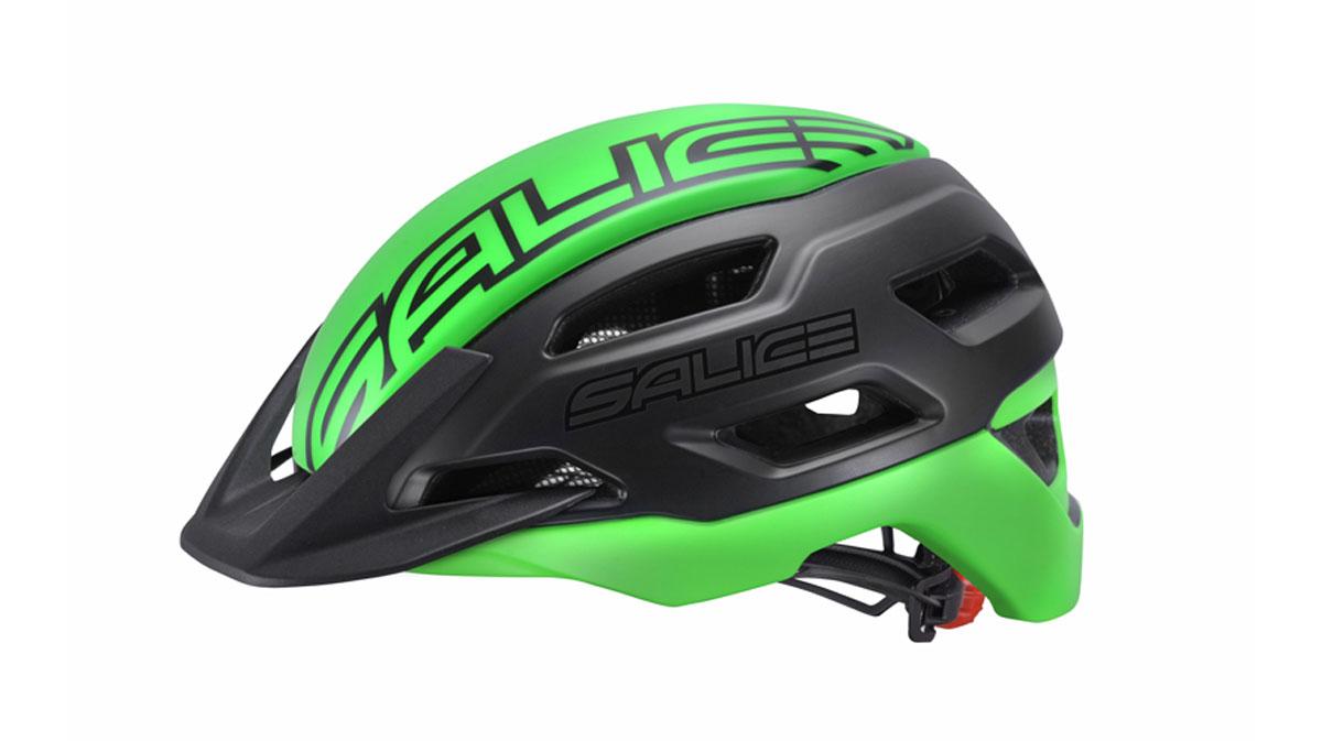 SALICE-casco-STELVIO-nero-verde