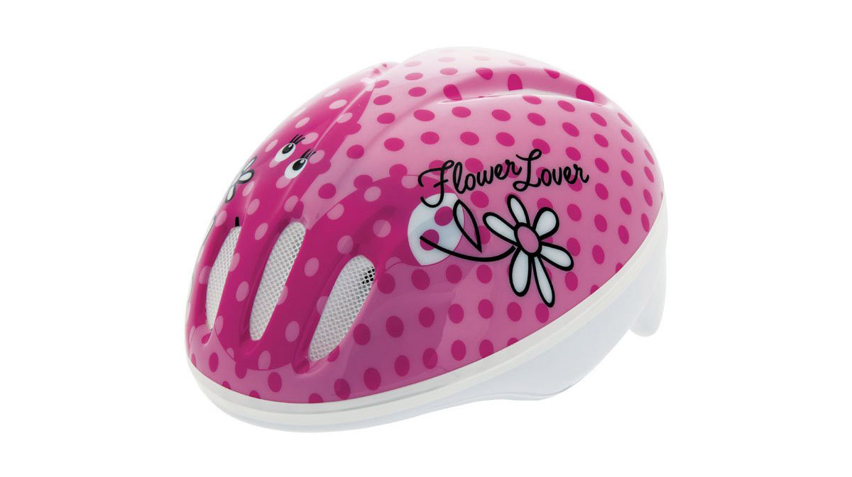 BERNARDI-Casco-Bambina-Flower-Lover
