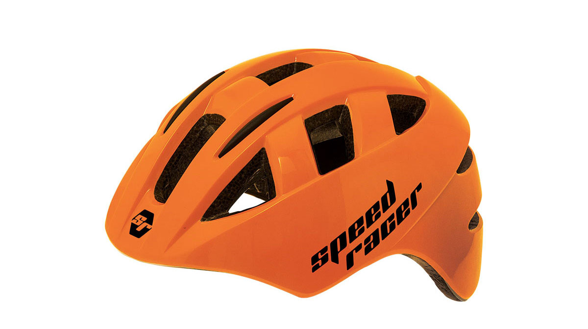 BERNARDI-Casco-Bambini-Speed-Racer-Arancione