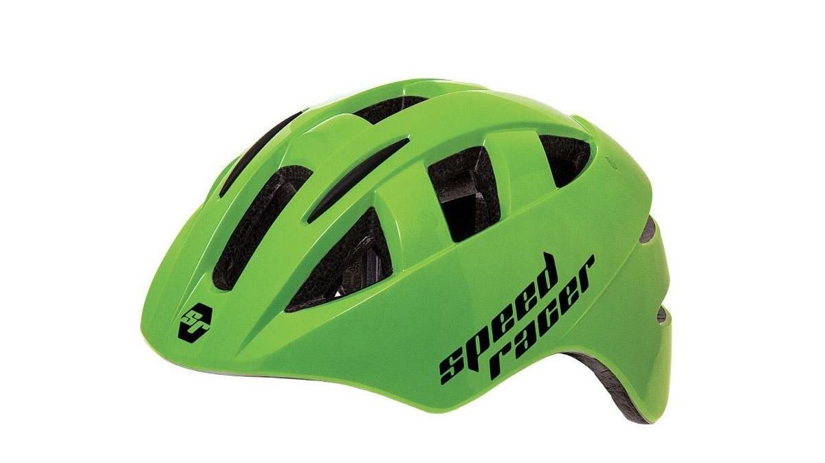 BERNARDI-Casco-Bambini-Speed-Racer-Verde-Fluo