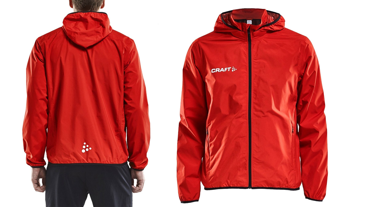 CRAFT-Jacket-Rain-Red