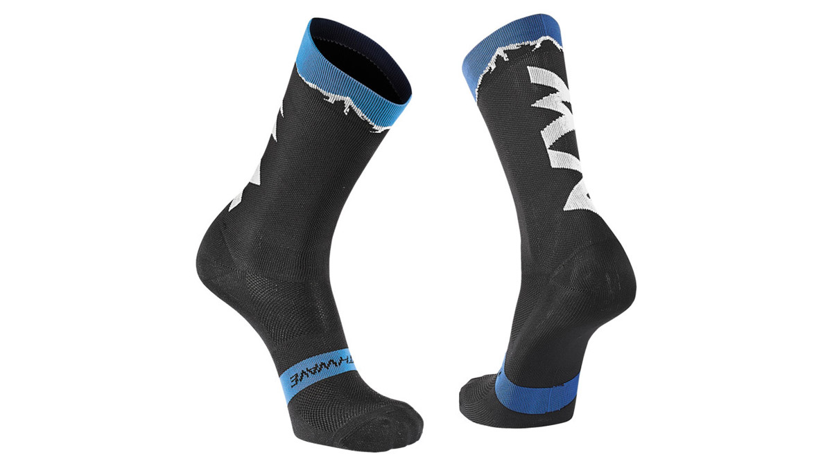 NORTHWAVE-CLAN-SOCKS-Black-Blue