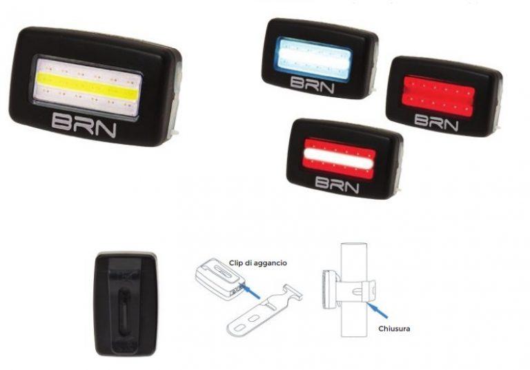 Brn Faro doppio uso dual function fissaggio